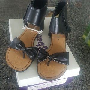 7a1c65ba540 Faux Leather sandals